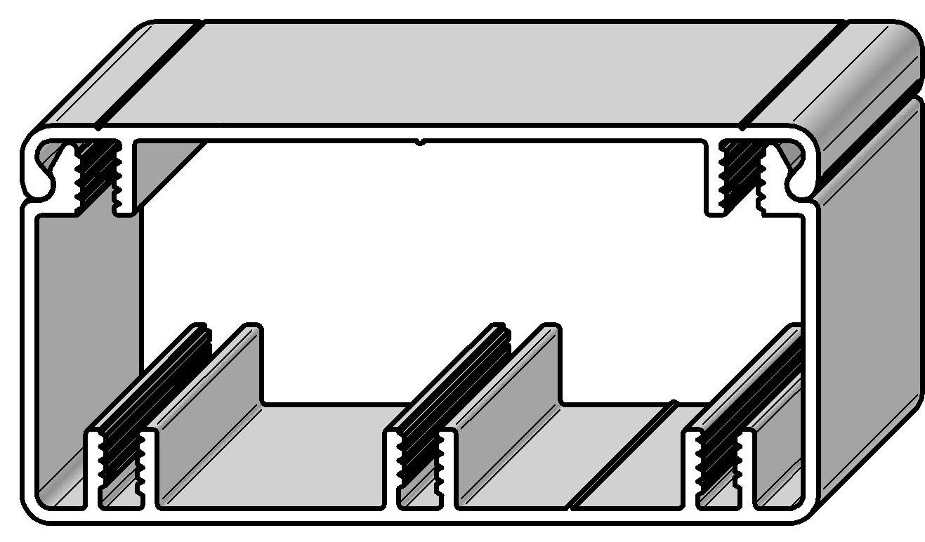 Kabelkanal Deckel 80 | Alváris Profile Systems