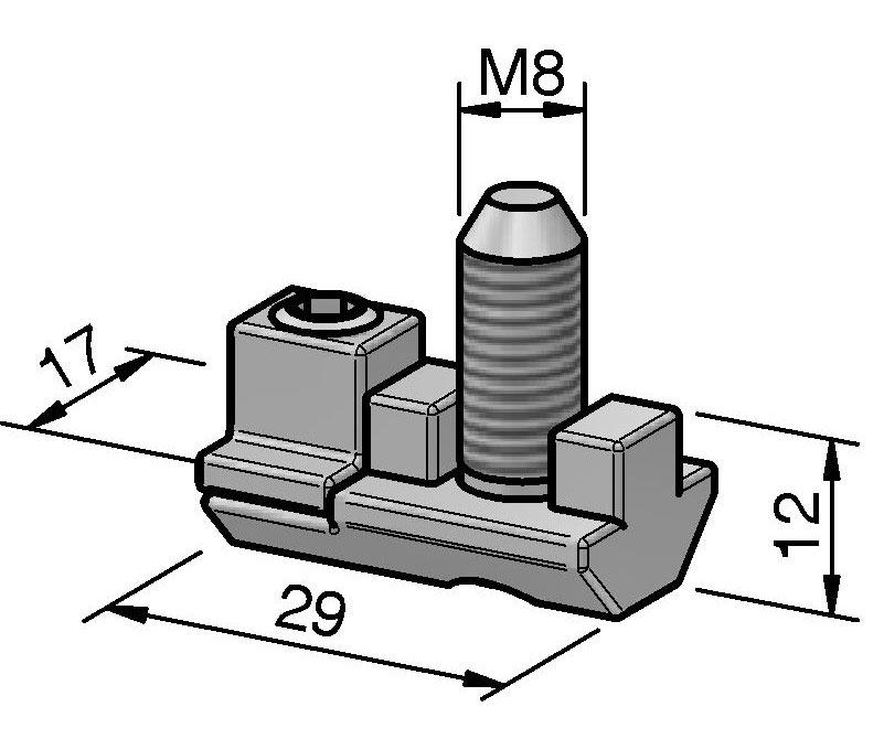 Direktverbindersatz einfach | Alváris Profile Systems