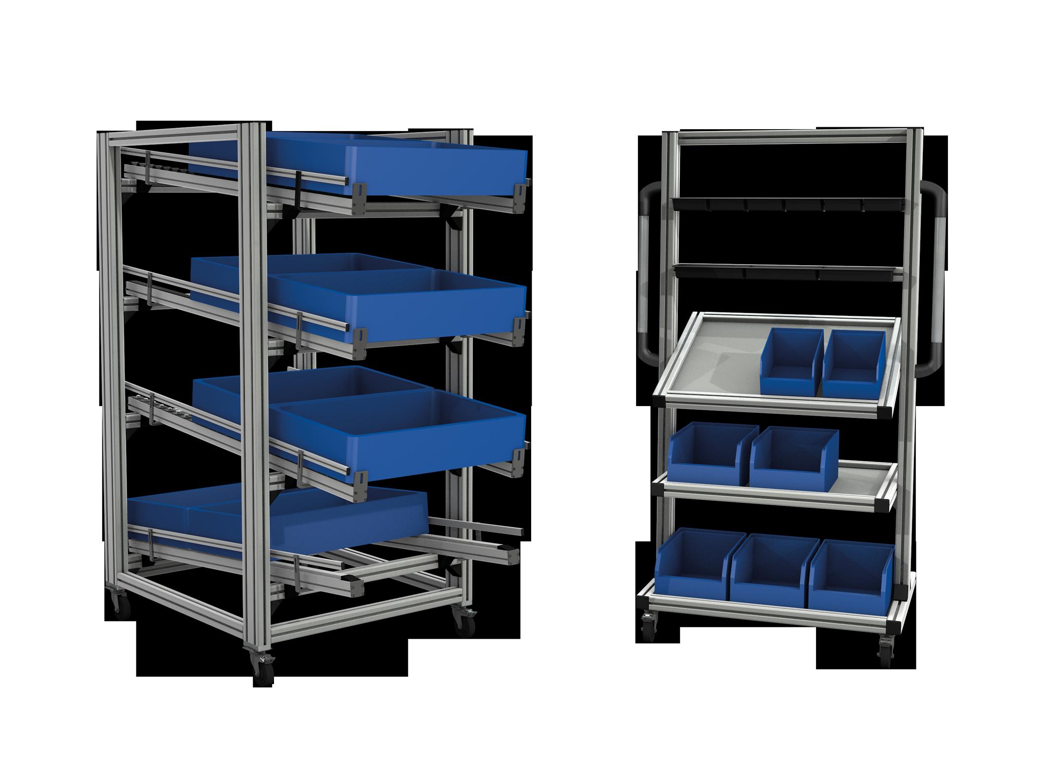 Arbeitstisch mit / ohne Höhenverstellung   Alváris Profile Systems